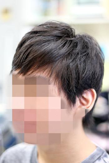 メンズ(男性)の酸性縮毛矯正