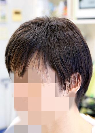 縮毛矯正をしている髪にアイロンパーマ