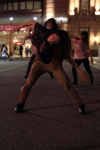 ゾンビのダンス