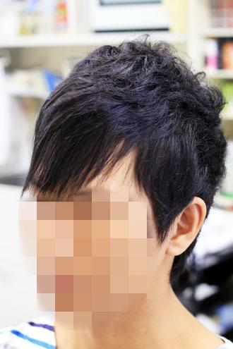 くせ毛の方のカット