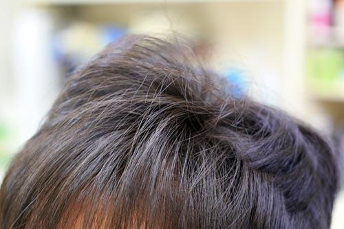 縮毛矯正の土管アイロン