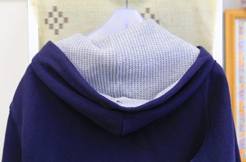 フードのついた服