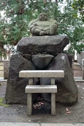 鴨高田神社の戎様