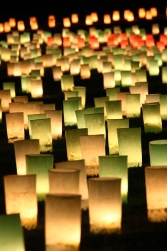 奈良の燈花会