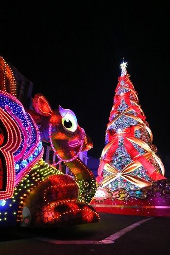 USJのリスマスツリー