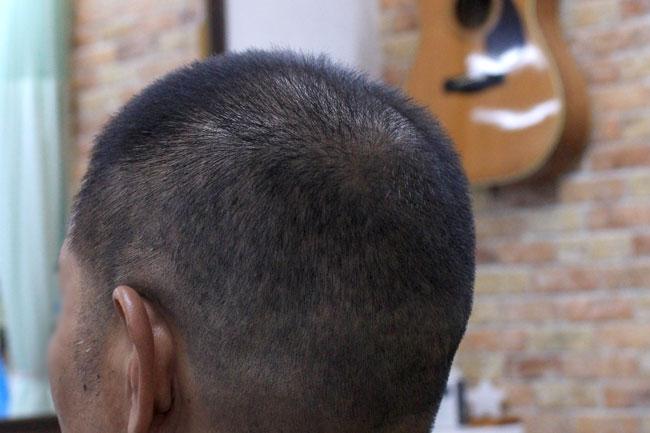 ベリーショートのヘアースタイル