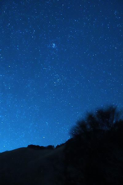 曽爾高原で見る星