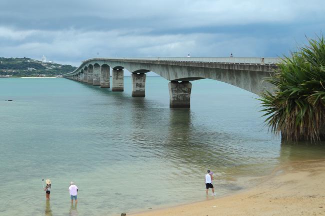 古宇利島に渡る橋