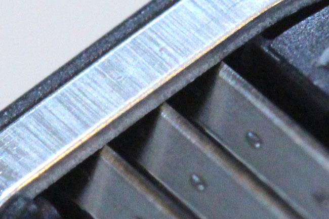 カミソリの刃(3枚刃)の構造