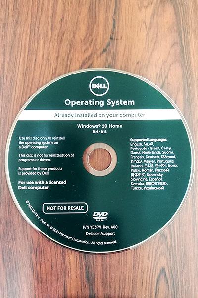『Windows10』リカバリーディスク