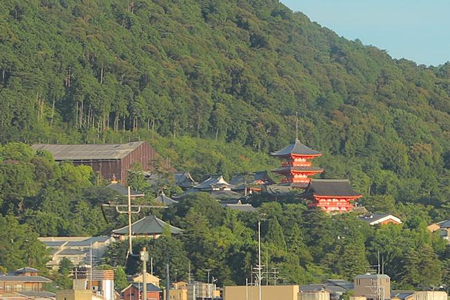 清水寺の五重の塔