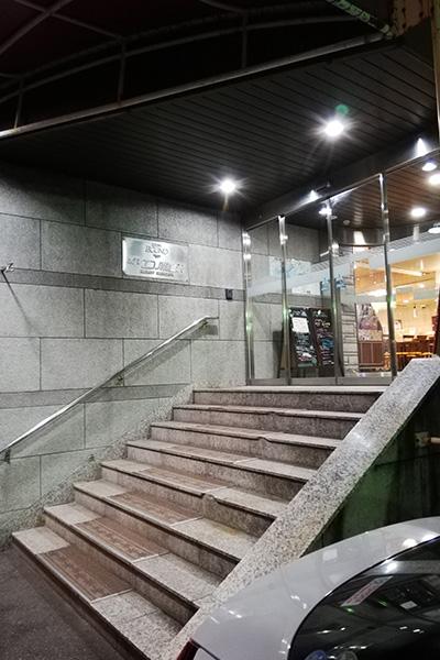 ホテルエコノ東金沢玄関