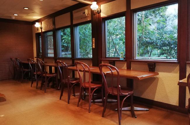 円山公園の喫茶店